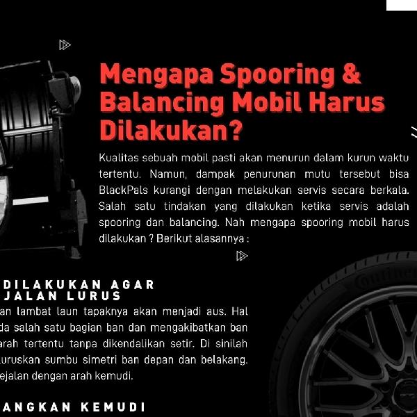 Mengapa Spooring dan Balancing Mobil Harus Dilakukan ?