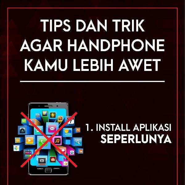 Tips Agar Handphone Awet