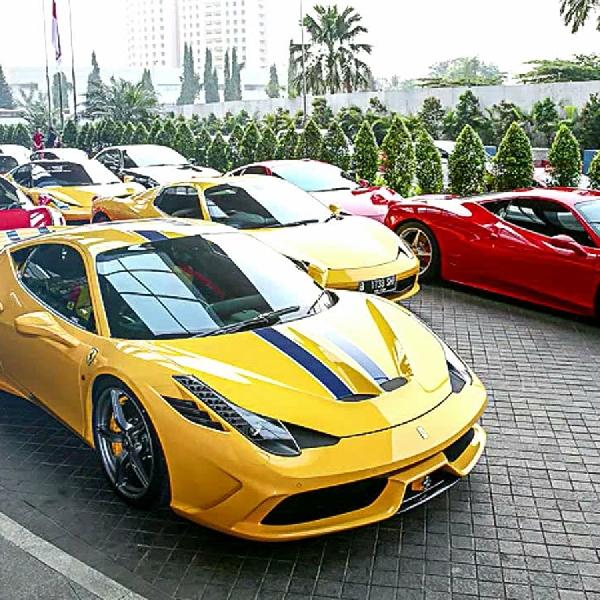 Event Ferrari Klasik di Indonesia