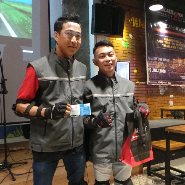 Ada Games Seru di BLACKNATION MEET UP 2018 Manado