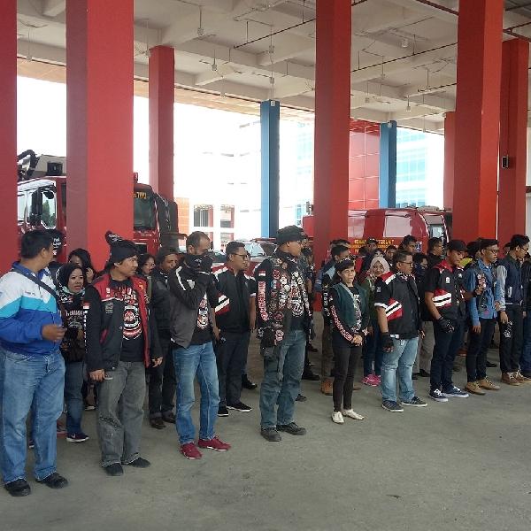 Black Motor Community Jakarta Barat Rayakan Hari Kemerdekaan dengan Edukasi