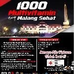 BMC Chapter Malang Gandeng Boldriders dan PMI, Sukseskan Gerakan 1000 Multivitamin untuk Malang Sehat