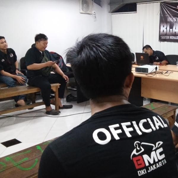 Mubes BMC Jakbar 2016, Daulat Adit Jadi Ketua Umum