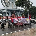 Sembilan Riders Taklukan Expedisi Nol Kilometer Sabang 3450 KM