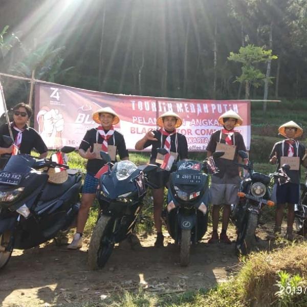 Touring Wajib Merah Putih Serta Pelantikan Member Angkatan 9 BMC Jakarta Timur