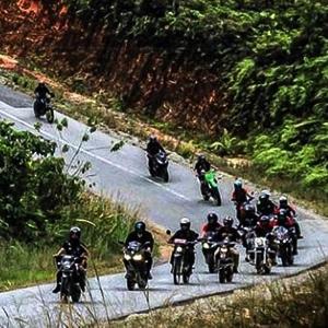 BMC West Borneo Tempuh Ratusan Kilometer Rayakan Anniversary BMC Sintang ke-5