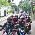 110 Riders Rayakan Parade Merah Putih  dengan Rolling Thunder
