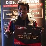 Emosi Campur Aduk Dirasakan Pemenang Nonton Langsung MotoGP di Thailand