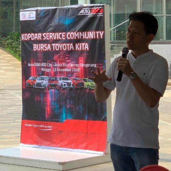 Auto2000 dan Komunitas Toyota Adakan Kopdar Dan Servis Bareng