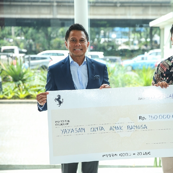 FOCI Sumbangkan Rp 500 Juta ke Lembaga Sosial