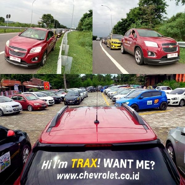 Chevrolet Trax Nampak Dalam Barisan Konvoi ACI