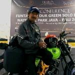 Dalam 10 Hari, Agus Blues Lakukan Solo Ride Melalui 11  Taman Nasional Sejauh 3700 km