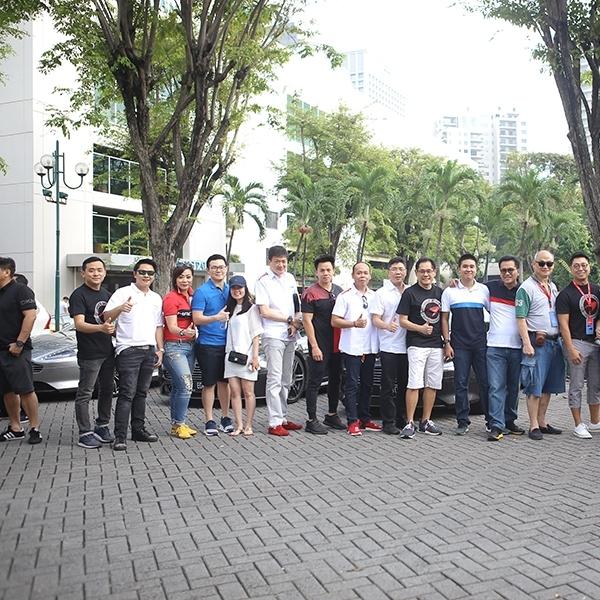 Aston Martin Owners Club Indonesia Dukung Ferrari Festival of Speed