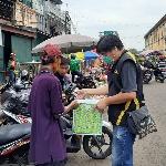 Bagi-Bagi Masker Lagi, SOC Bagikan Donasi Dari Karyawan Suzuki 2W