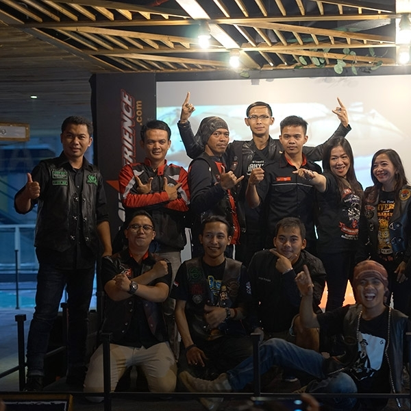 BLACKNATION MEET UP Nobar MotoGP Misano Jadi Ajang Silahturami Komunitas Motor Bandung