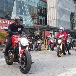 40 Rider Motor Italia Sambangi Panti di Bilangan Kahfi