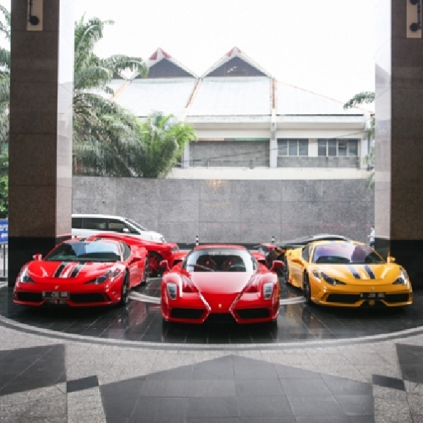 Ferrari Owners Club Indonesia Ganti Kepengurusan