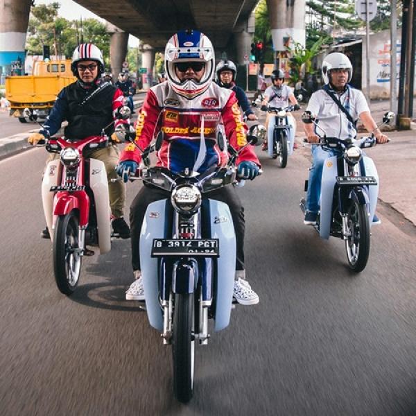 Ingin Tampil Beda, Pemilik Honda C125 Dirikan Komunitas