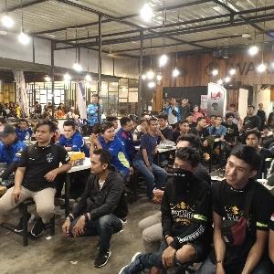 Keliling Kota Pekanbaru Bersama Bikers Suzuki