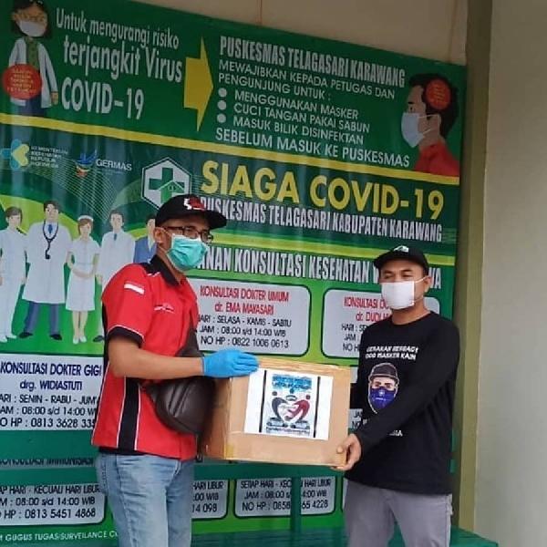 Komunitas Mobil Honda Gelar Aksi Pembagian Alat Perlindungan Diri (APD) dan Bantuan Sosial