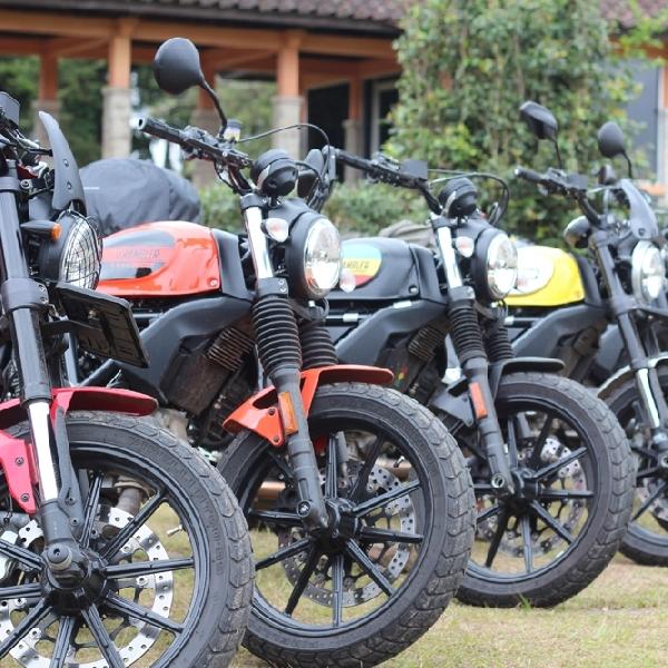 Komunitas Ducati Scrambler Riders Touring Perdana