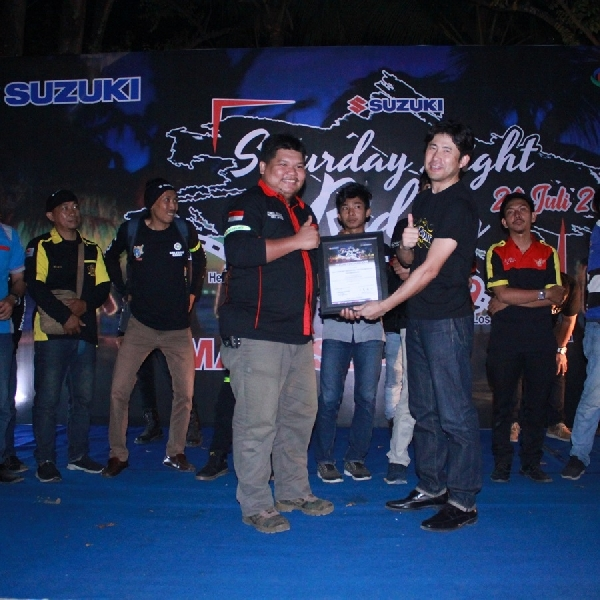 Suzuki Saturday Night Ride Kembali Diadakan di Makassar