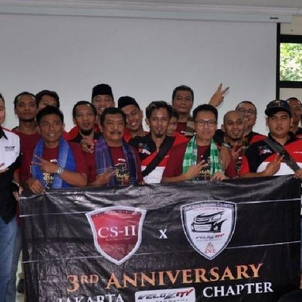 Selebrasi Unik Anniversary Jakarta Velozity