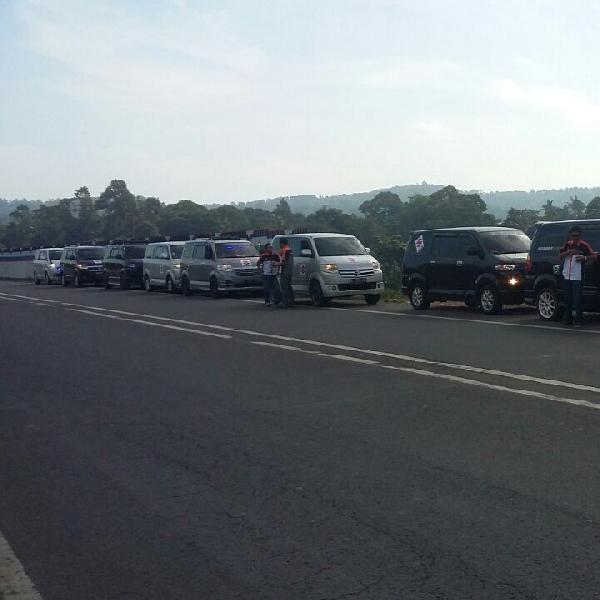 Komunitas Suzuki APV Kopdar Sekaligus Lakukan Bakti Sosial