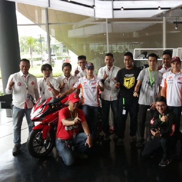 Komunitas Honda CBR Galang Dukungannya Terhadap Marquez