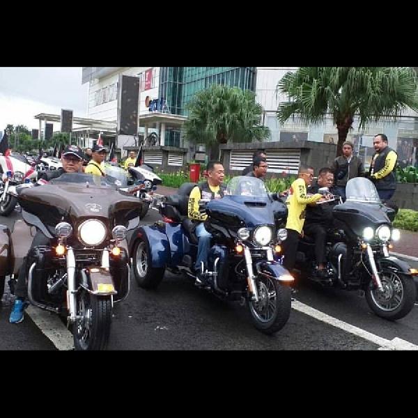 Ribuan Biker Hadiri Pesta Rakyat Bikers Jakarta