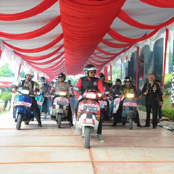 Kutu Vespa MerahPutihkan Padang