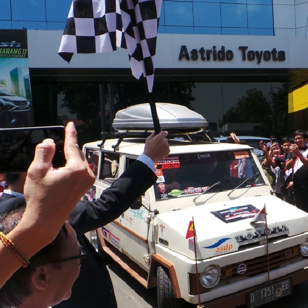 Uji Ketangguhan Tiga MPV Toyota, Toyota Owner Club Lakukan Touring ke Timor Leste