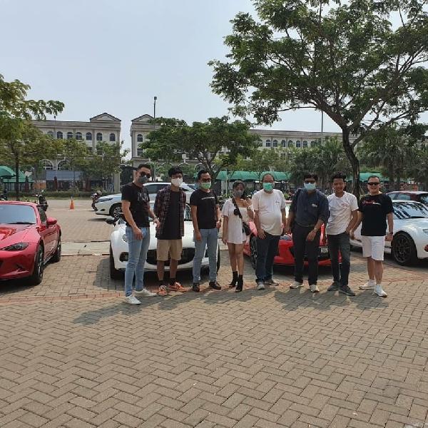 Kopdar Tipis Komunitas MRCI, Pecinta Mazda MX-5 Roadster di PIK 2