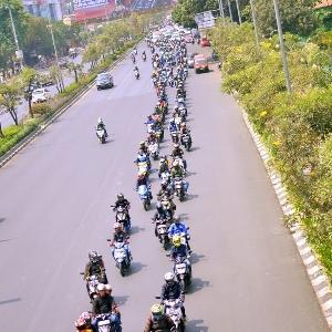 Riding Sunmori Bareng Ribuan Riders Suzuki