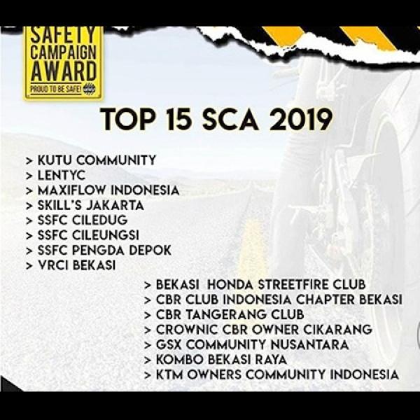 15 Komunitas Ini Dinobatkan sebagai Finalis Safety Campaign Award 2019