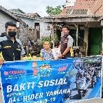 YRFI Sumut dan Alfa Scorpii Bagikan Bantuan Ratusan Paket Sembako