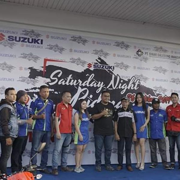 Suzuki Saturday Night Ride Tutup Rangkaian DI Kota Manado