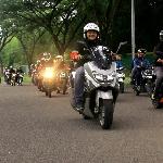 Touring FORWOT XV Ngegass Bareng Lagi Sekaligus Peduli Road Safety