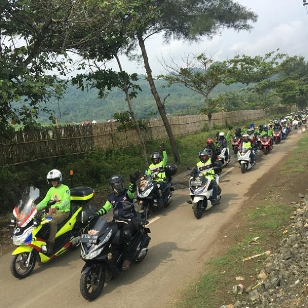 Pecinta Honda PCX Gelar Silahturahmi Akbar