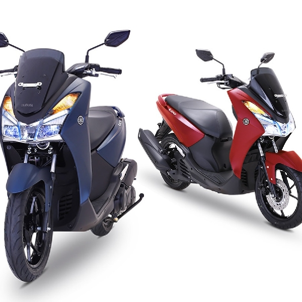 Maxi Yamaha Kumpul Bareng di Pantai Melasti