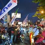 Ratusan Bikers Suzuki Ramaikan Kota Yogyakarta