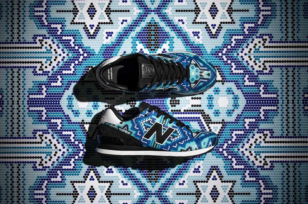 New Balance Bespoke 574 Capsule, Sneaker Bermotif Penuh Arti ...