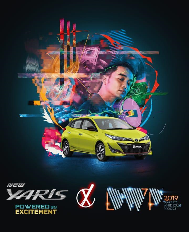 Toyota Yaris Ikut Ramaikan Djakarta Warehouse Project Blackxperience Com