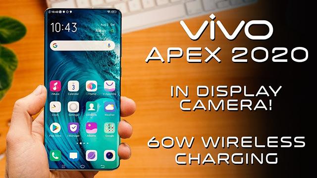 Teaser Vivo APEX 2020 Menunjukkan Desain, Kamera, dan Pengisian ...