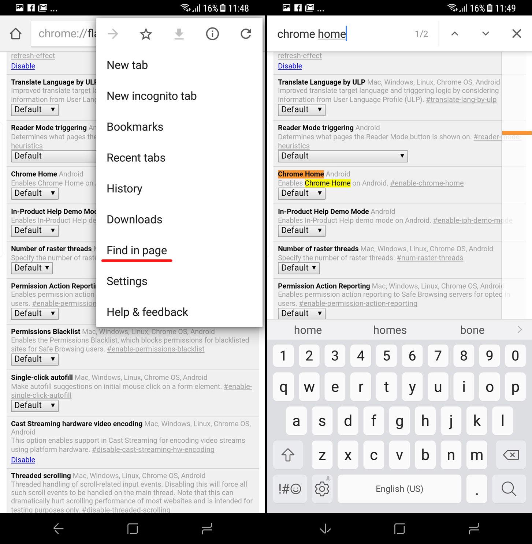 Cara Memindah Navigation Bar Chrome Android ke Layar Bawah