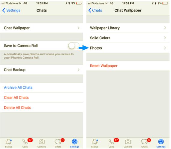 Cara Mengganti Wallpaper Whatsapp Di Ios Blackxperiencecom