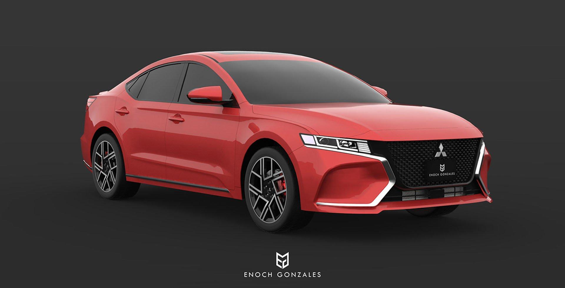 Mitsubishi Rencanakan Comeback Galant Dengan Sebuah Desain Blackxperience Com