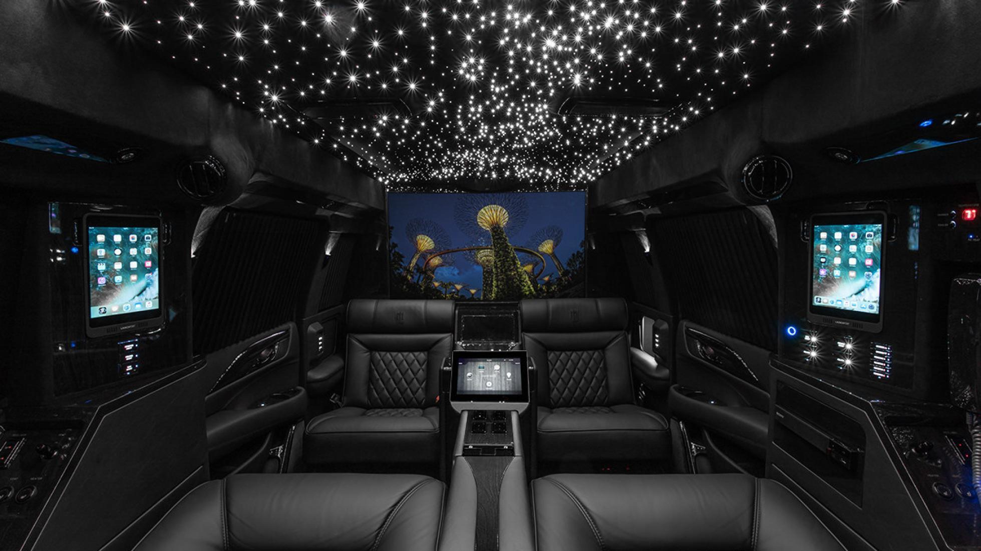 Cadillac Escalade Panjang Ini Bisa Jadi Kantor Berjalan Anda Blackxperience Com