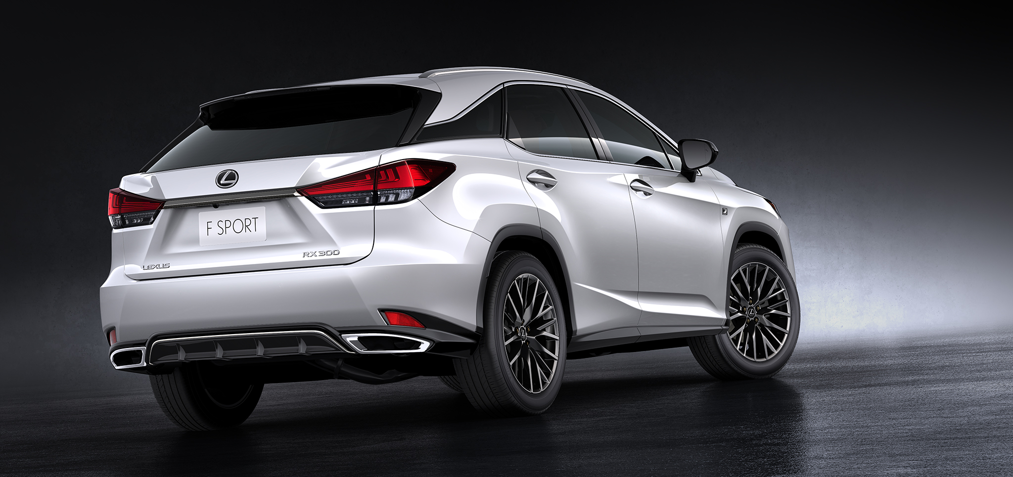 Lexus F Series >> The New Lexus Rx 300 Series Suv Crossover Terbaru Dari