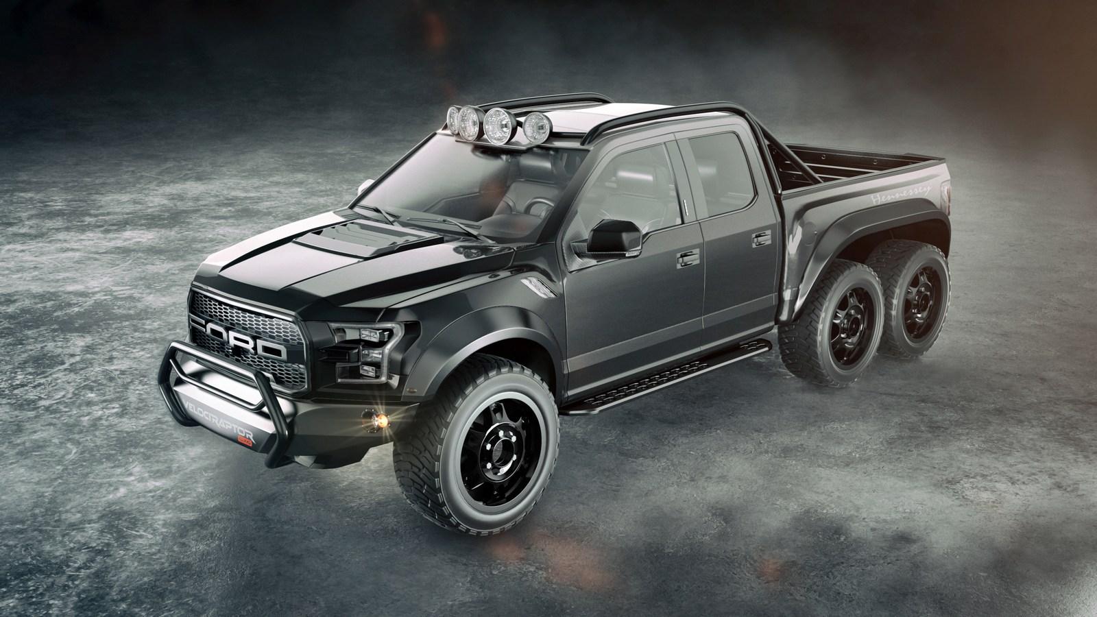 Modifikasi Ford Raptor F-150: Pick-up Monster 6x6